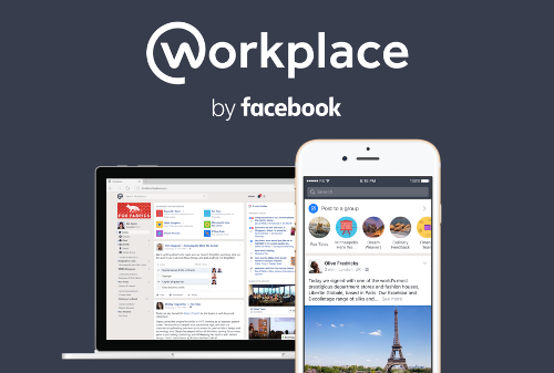 Workplace by Facebook 讓企業加強溝通合作