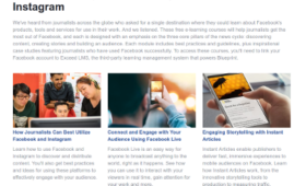 The Facebook Journalism Project 打擊假新聞